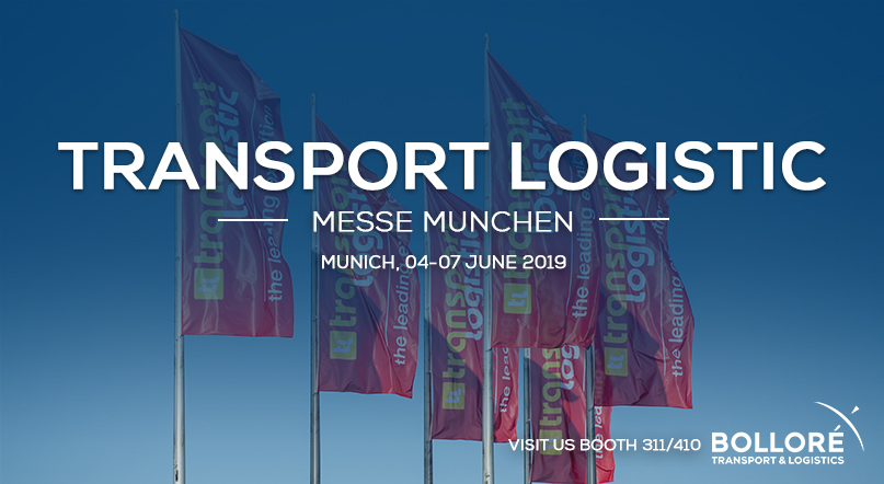 Bolloré Transport & Logistics at the 2019 Transport Logistic exhibition