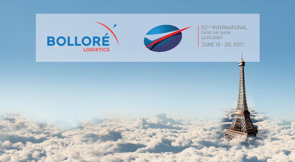 Salon du bourget 2017 solutions logistiques aerospace bollor logistics - Prochain salon du bourget ...