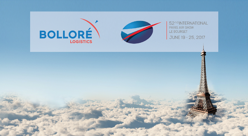 Bollore transport logistics le Bourget
