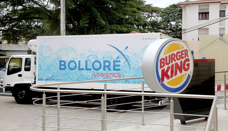 Burger King Bolloré Logistics