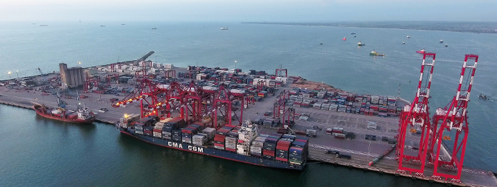 Multimodal logistics solutions, maritime and port services
