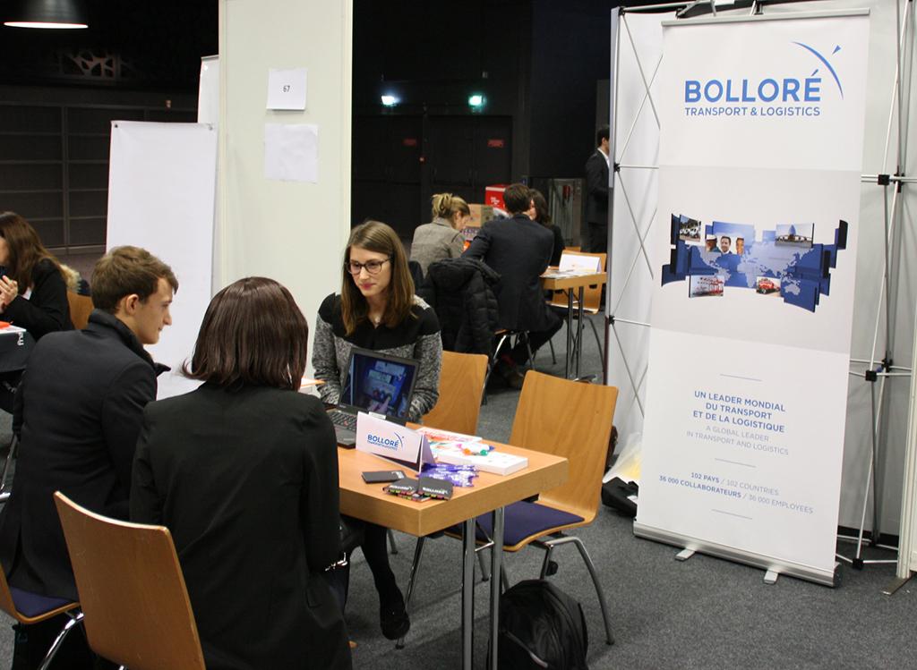 Bolloré Transport Logistics: internship international transport and